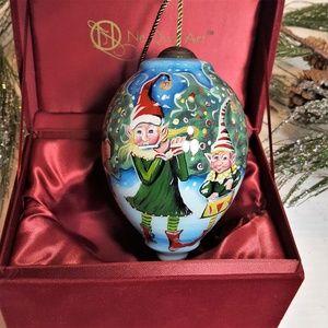 """Ne'Qwa Art Ornament NIB """"Elf Quintet"""""""